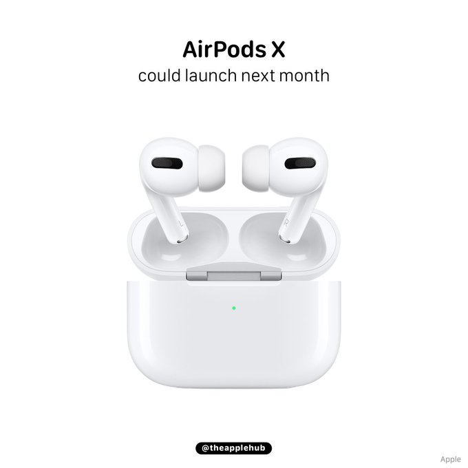 Apple's upcoming new AirPods are ready to go and could launch next month