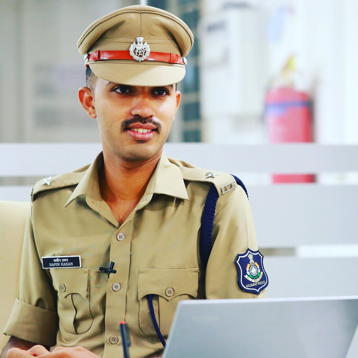 photo of youngest IPS officer