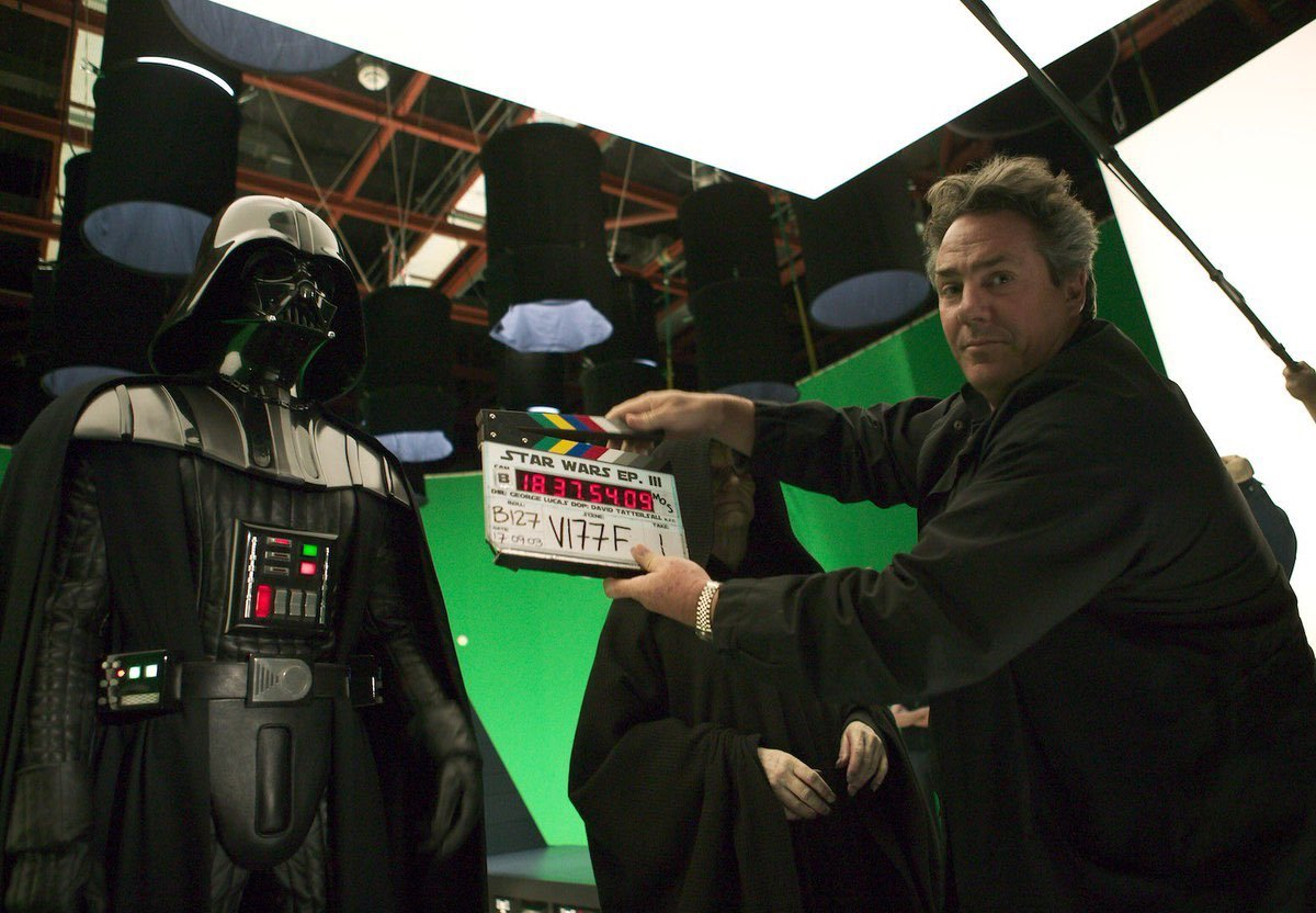 Star Wars Facts On Twitter Hayden Christensen In The Darth Vader Suit Onset Of Revenge Of The Sith 2005