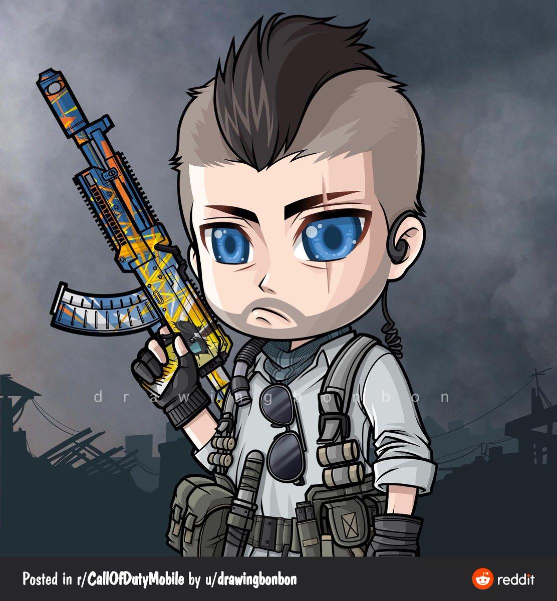 Call Of Duty Mobile On Twitter John Mactavish Soap Fan Art By Reddit User U Drawingbonbon