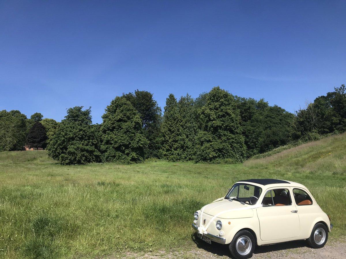 Sunny the Fiat 500 likes it sunny ☀️   #fiat500 #classicfiat500 https://t.co/44atXUIvS6