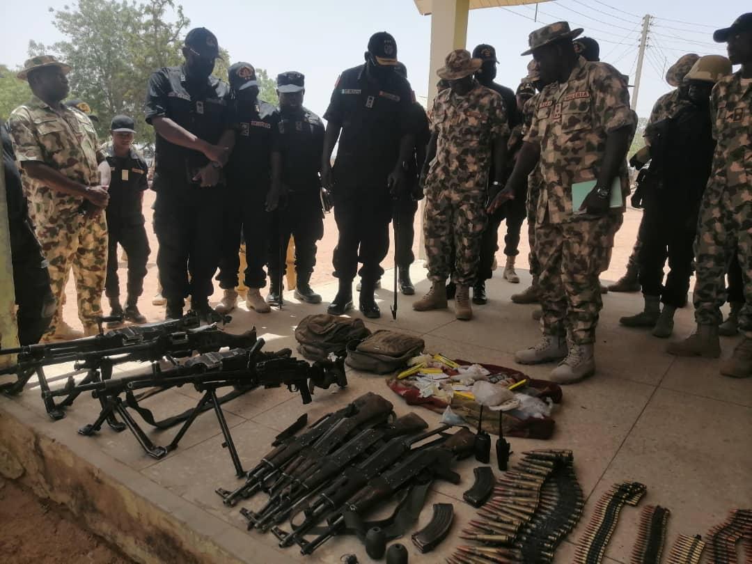 Image of Boko Haram terrorists
