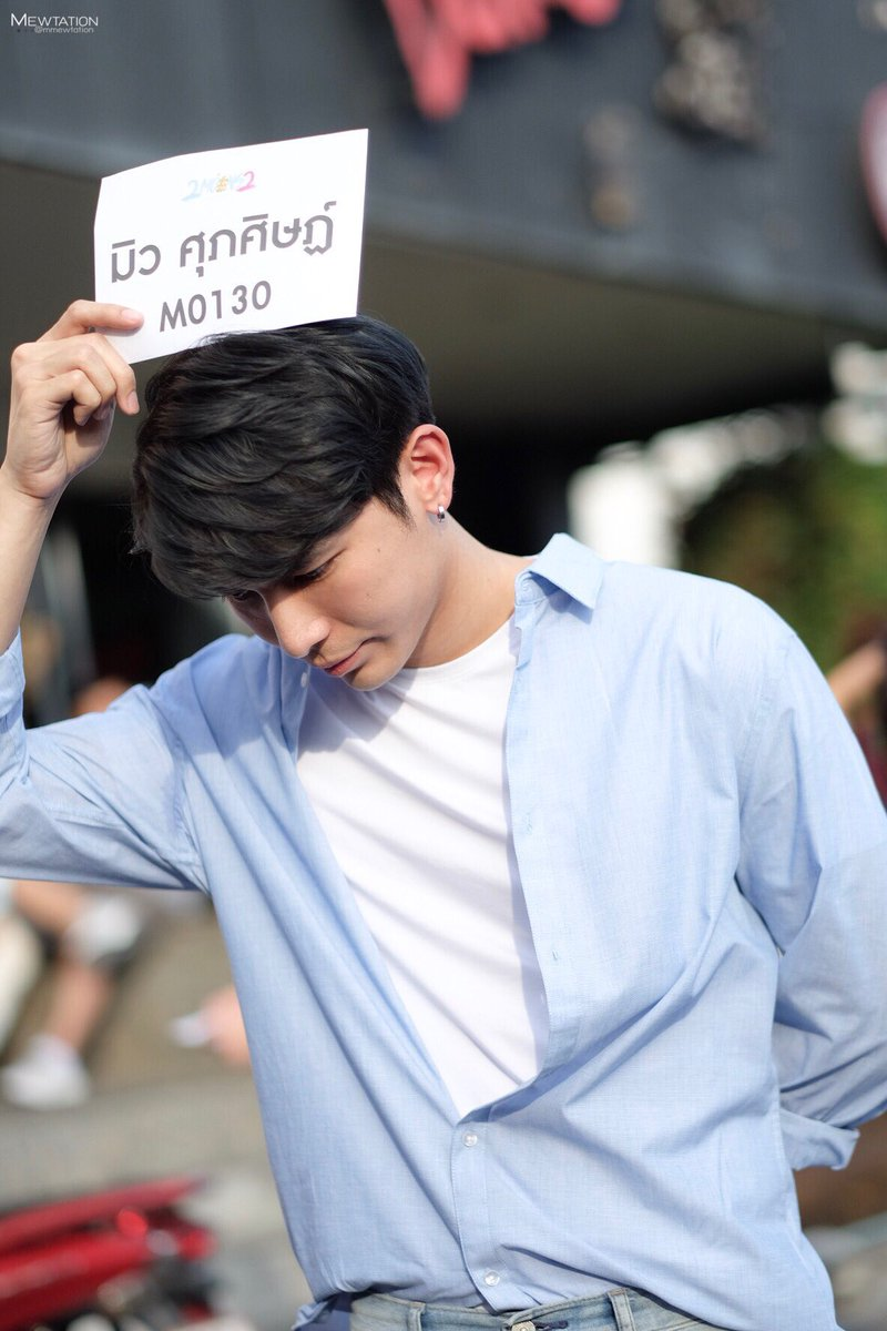 """""""Some things are destined to be -- it just takes us a couple of tries to get there."""" Mew tried for 2moons2 while Gulf tried for 2gether. Yet they both ended up in TharnType.  #MewGulf  #GulfIn1MillionLove"""