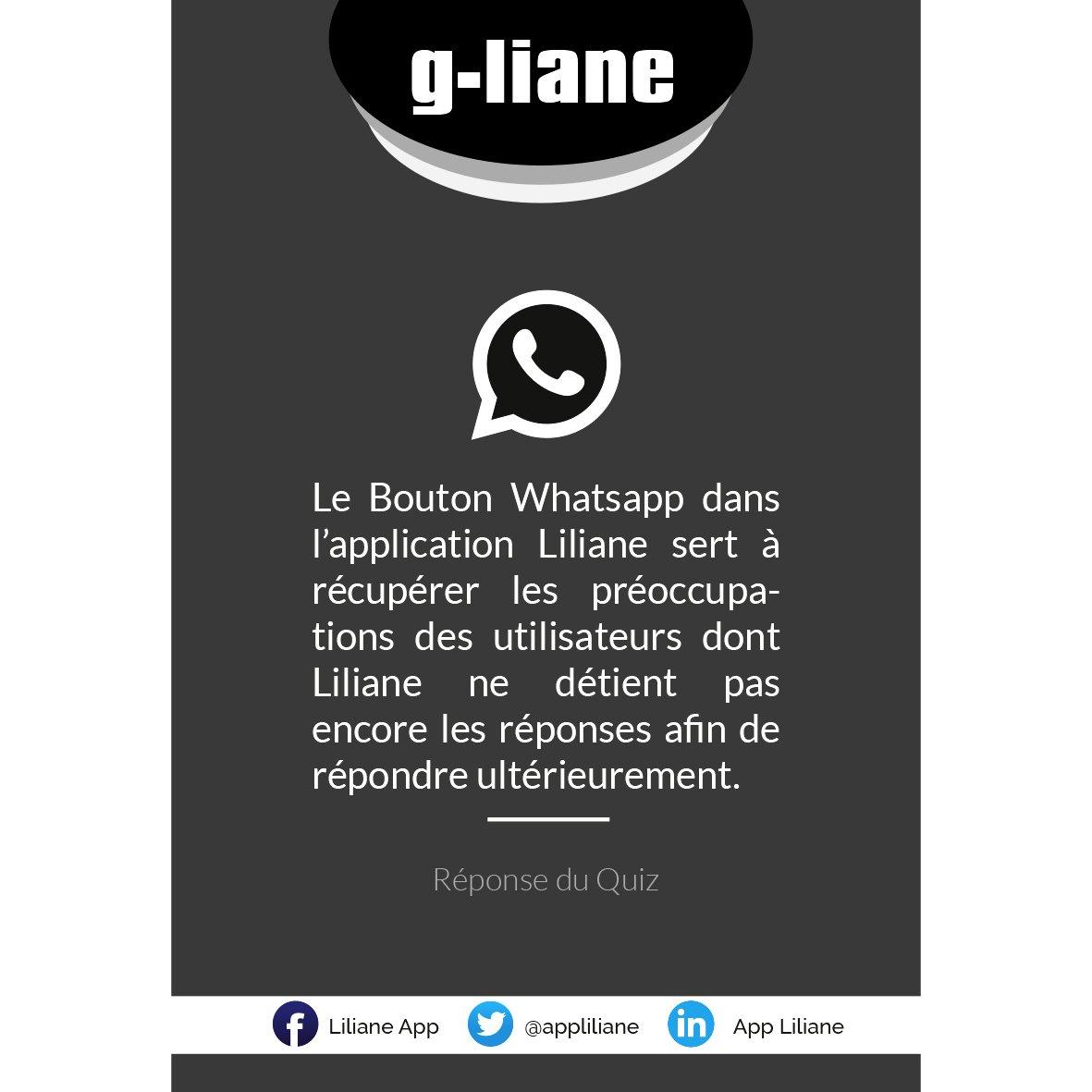 Bonjour chers tous ! Si vous avez répondu ça, c'est que vous êtes #gliane! https://t.co/m1V3bYOetb