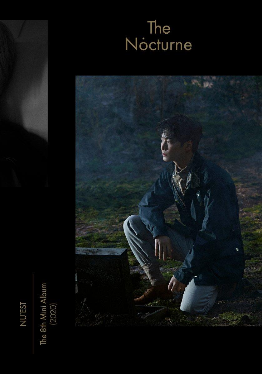 NU'EST The 8th Mini Album <The Nocturne> Official Photo Ver.1 #JR  #NUEST_JR_아론_백호_민현_렌 #뉴이스트 #NUEST #The_Nocturne #20200511_6PM https://t.co/SsvF4Cb5dY