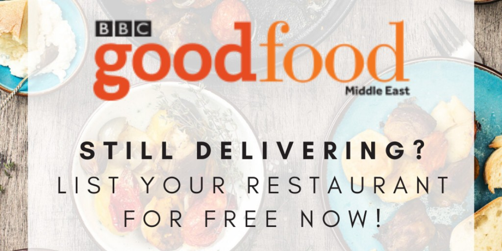 Do you own a restaurant that's open for delivery? If so, join our completely free online restaurant listing now: http://bbcgoodfoodme.com/restaurant-listing…  #UAErestaurants #fooddelivery #mydubai #uae #myabudhabipic.twitter.com/Z6JND9pwCh