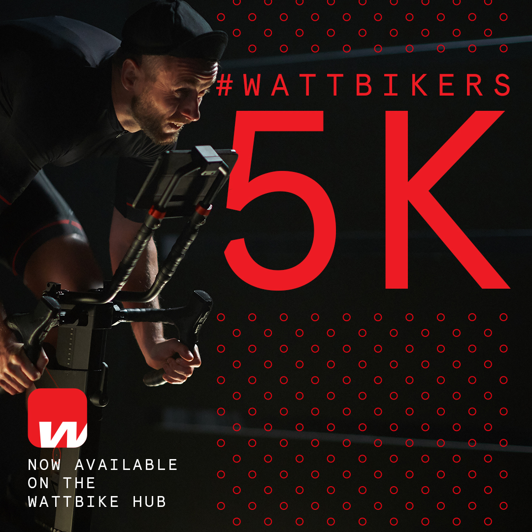 To celebrate our milestone of reaching 5 million Wattbike Hub session uploads, and to help support NHS staff, the Wattbikers Challenge is back!  This time you'll need to give it your all for 5km.  Find out more here: https://t.co/6zg38daNbj https://t.co/i7omPj8dCw