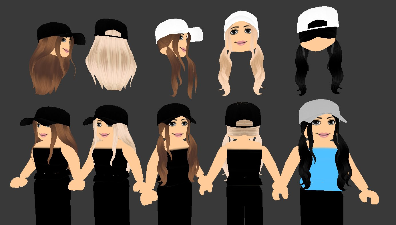 Beeism On Twitter Rossiie Calls This My Housewives Of Roblox Hair Loool Comin To A Ugc Catalog Near You It S Both The Hair And Hat In One Item Cuz I Didn T - cute roblox hair codes long black hair