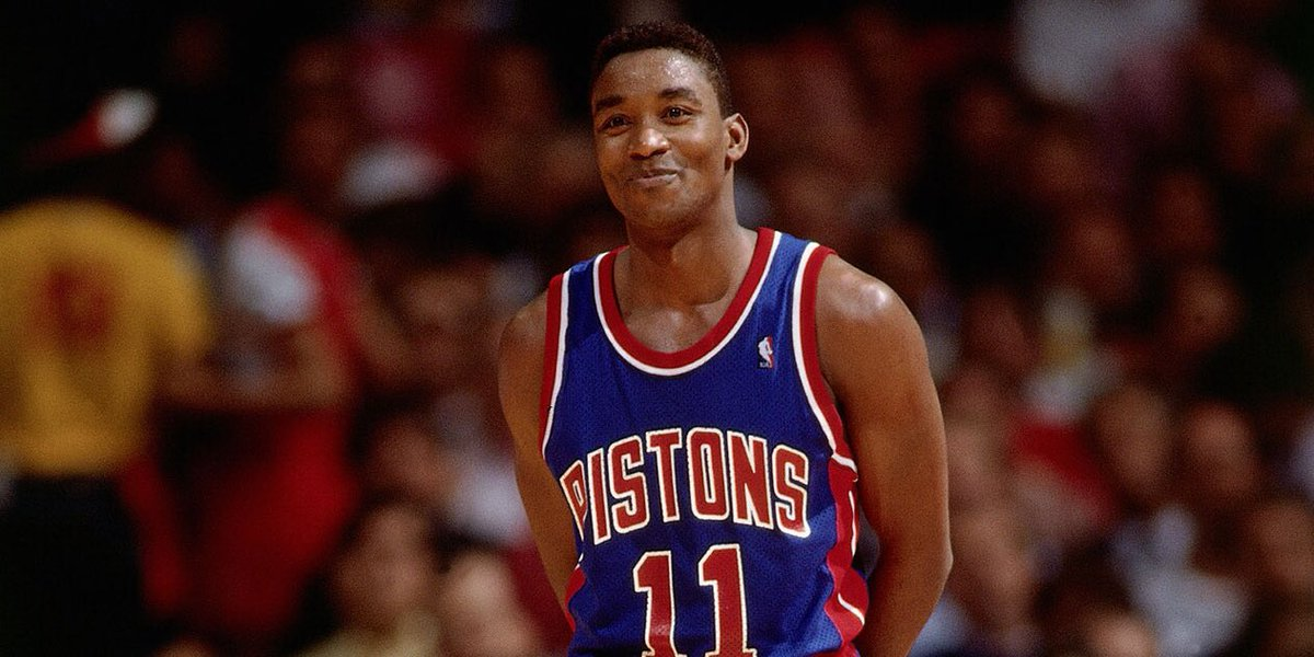 Isiah Thomas is the ONLY superstar who beat Magic, Bird, and MJ all in their prime  #Facts #TheLastDance https://t.co/T1YImOgeSS