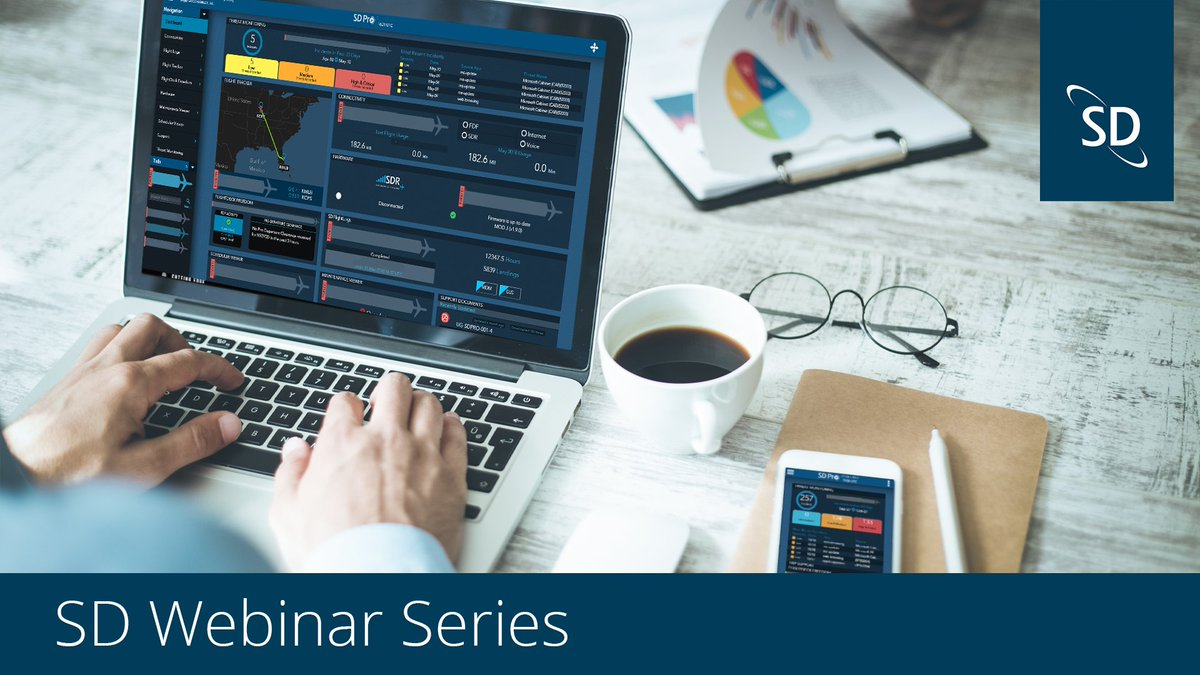 The SD Connectivity Webinar is tomorrow at 13:00 UTC! Join members of the Satcom Direct team to receive the latest updates on networks and services, and learn how SD tools can enhance the passenger experience. Register today here: https://t.co/ZxEoEKfN9s https://t.co/4FX6qSVeTU
