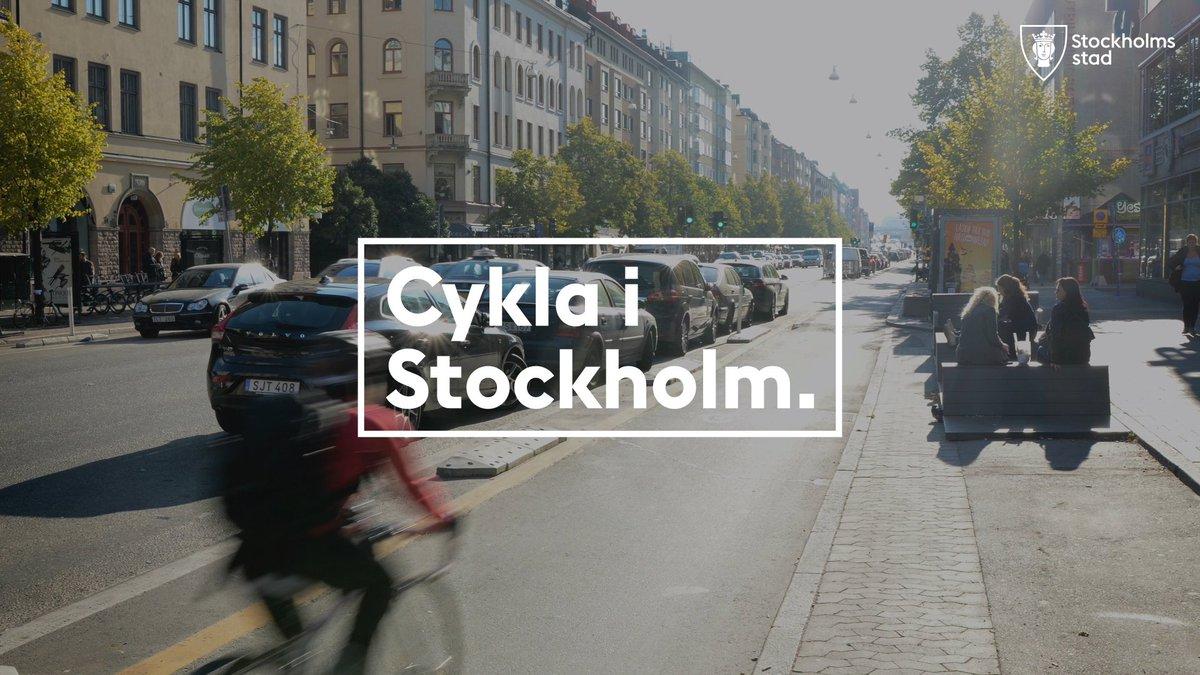 Coronapandemin påverkar hur du bör och kan ta dig fram i Stockholm. Därför kan cykeln vara ett bra alternativ för många.  Kolla gärna in webbplatsen https://t.co/qyVy6hGtMV. Där har vi samlat information och inspiration för dig som vill cykla i Stockholm! https://t.co/RxloiS84vD