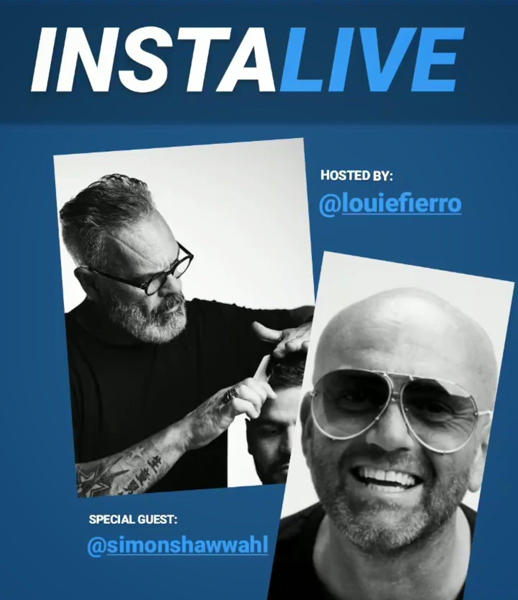 Don't miss the #INSTALIVE today with our Education Director, Louie Fierro on his Instagram page (http://www.instagram.com/louiefierro ) w/Simon Shaw, Global Artistic Director for Wahl! TODAY at 11:00 a.m. E.S.T.  See you there!   #canadianbarbers #WahlLove #wahlpro #stayhome #barberchatpic.twitter.com/wAXJA7UmrO