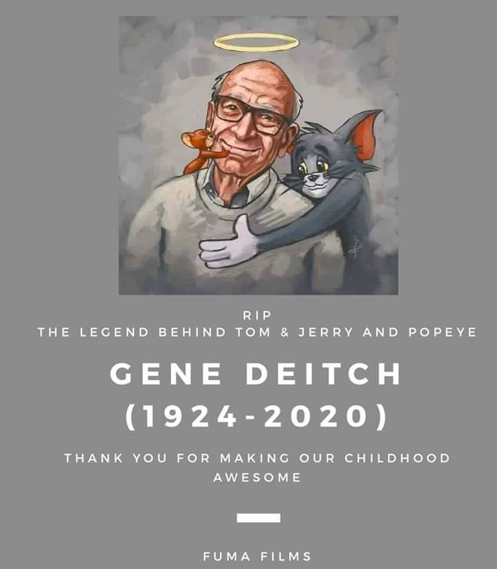 Najeeb Ul Hasnain On Twitter Rest In Peace Gene Deitch Tomandjerry Genedeitch Rip