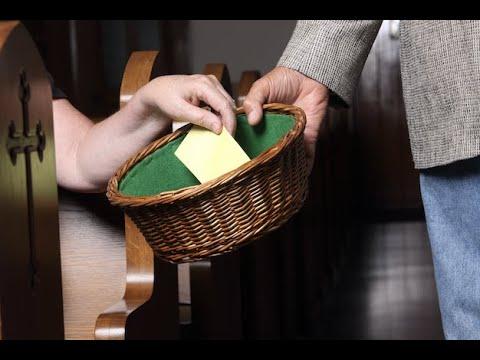 church offering baskets - 750×563