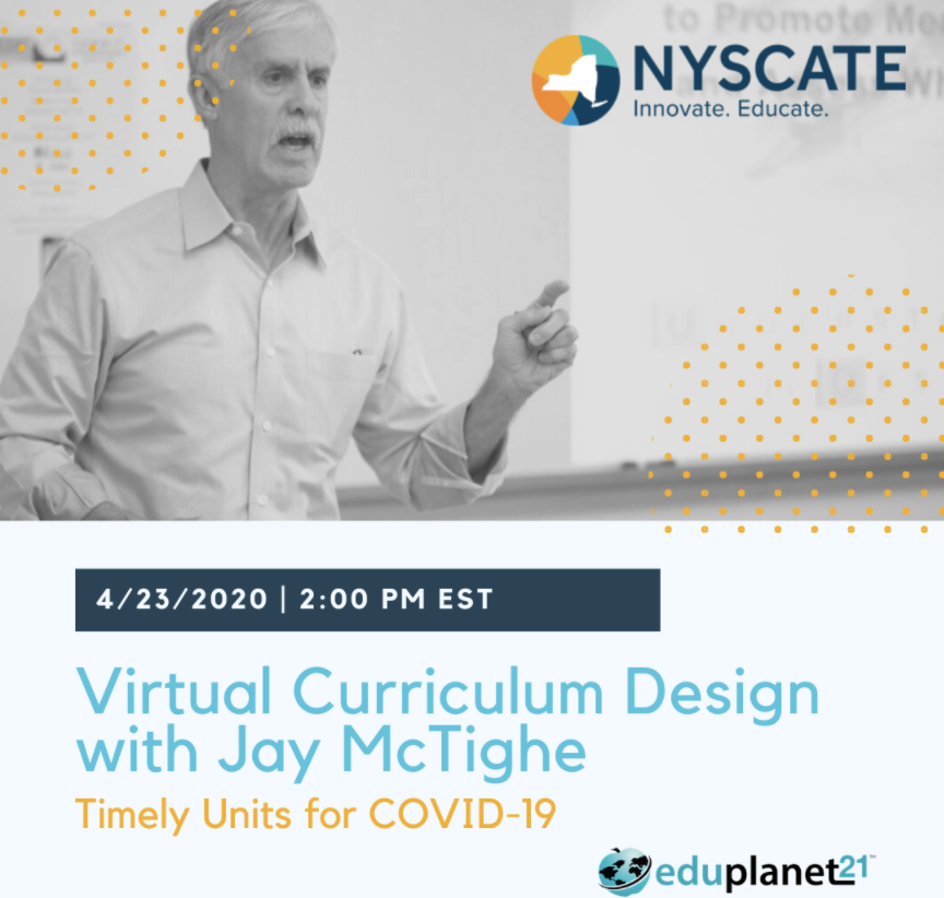 Check out this opportunity with our partners at @Eduplanet21  #nyscate https://t.co/zjSTmzNsF1  FREE Webinar.  Register today. https://t.co/FBwroGRRRt