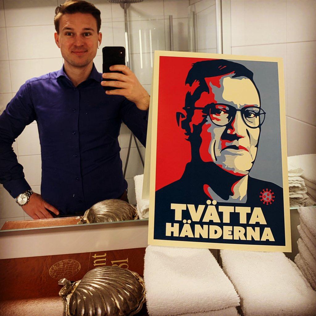 Victor Harju On Twitter Nu Bor Tegnell I Mitt Badrum