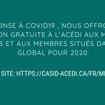 Image for the Tweet beginning: En réponse à #COVID19 ,