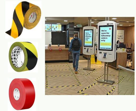 Tekra offers 3M™ floor marking tapes that can be used to identify specific stop-points or lanes for proper social distancing.   https://t.co/mTFfW0yrHC https://t.co/AJD9umrxsk