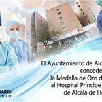 Image for the Tweet beginning: El @AytoAlcalaH concederá la Medalla