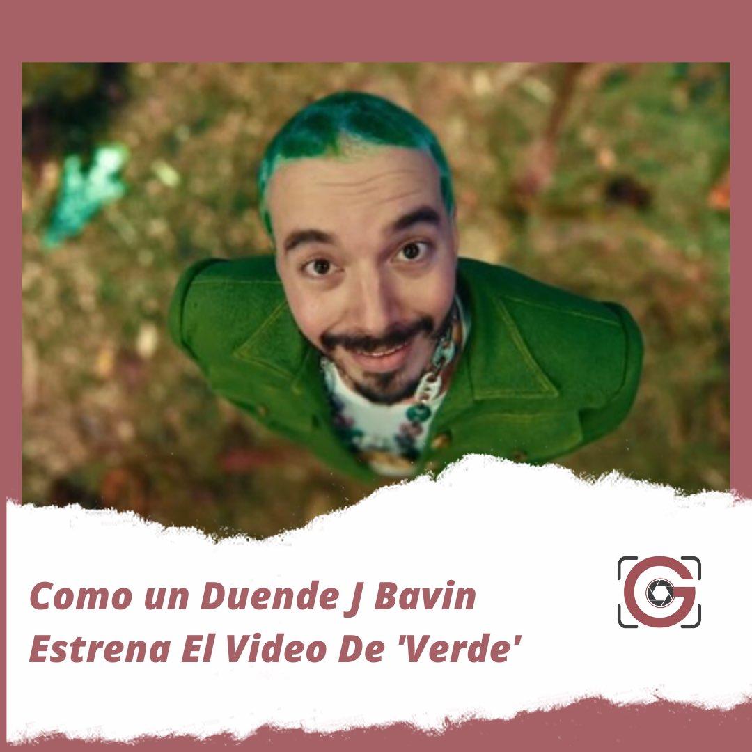 """Gaceta RD a Twitter: """"💥Como un Duende J Bavin Estrena El Video De 'Verde'  Ya se encuentra disponible el sexto trabajo audiovisual del álbum """"Colores  🥰 👉https://t.co/SUuIeEDKBZ #Verde #JBalvin #NewMusic #Colores  #VerdeMusicvideo…"""