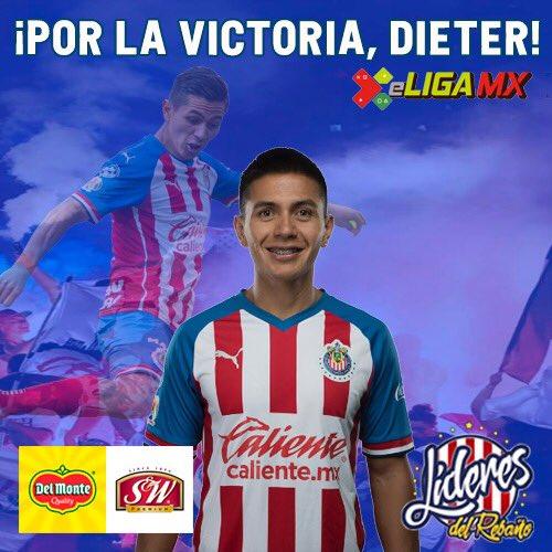  🎮  Una vez más es turno de que Dieter Villalpando tome el control en la #eLIGAMX. Hoy el Rebaño buscará su primera victoria en el torneo.   ¡Dale Chivas! ¡Dale #TeamDieter! 🇫🇷 https://t.co/8cUZFBD1e0