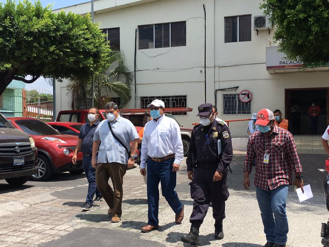 Salud apoya cordones  sanitarios en municipios