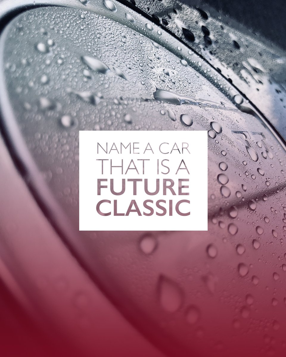 """What car do you think will be a future classic? 🤔  #autoglym #carcare #classiccar #futureclassic #carcleaning #detailing #carwash #cleancar #dirtycar #cardetailing #detailingworld"""" https://t.co/b7PMmYOACf"""