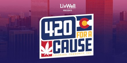 Just one hour until we're live with our streaming 420 for a Cause celebration. Join us 1-5:20pm to get your groove on, get your smile on, get your give on, and of course, get your smoke on! https://t.co/ypOKec2st6 @andyjuett #420foracause #howilivwell https://t.co/2sYd0NVBBK