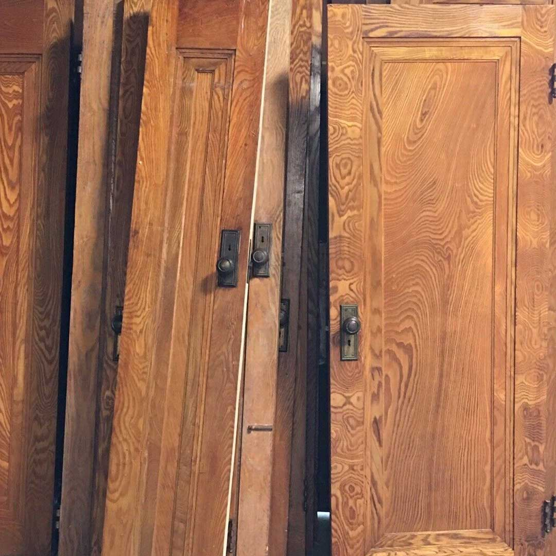 Community Forklift On Twitter These Salvaged Vintage Chestnut Doors Are Beautiful Check Out The Matching Set Of 14 That Is For Sale In The Communityforklift Ebay Store Shipping And Free Low Contact Loading Dock Side