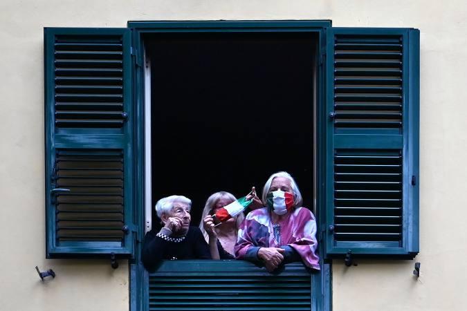 Baja número de enfermos en Italia por coronavirus según cifras oficiales