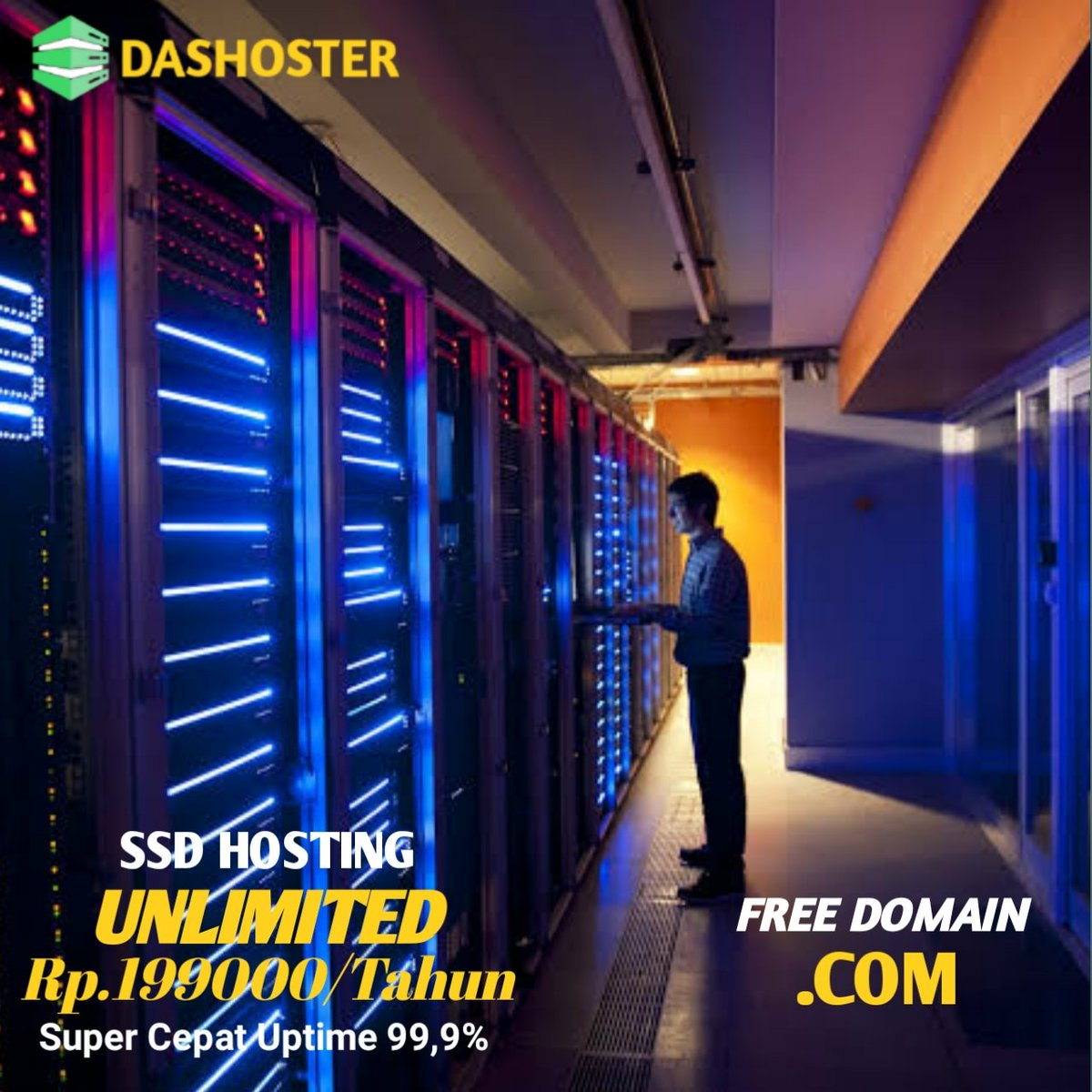 Dashoster Com على تويتر Harga Promo Ssd Hosting Unlimited Pertahun Free Domain Com Ssdhosting Unlimited Hosting Hostingunlimited Hostingmurah Domaingratis Freedomain Hostinggratis Https T Co Ri0gxc2e43