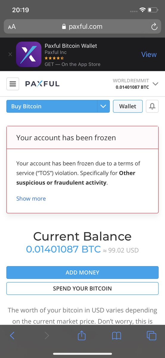 paxful bitcoin)