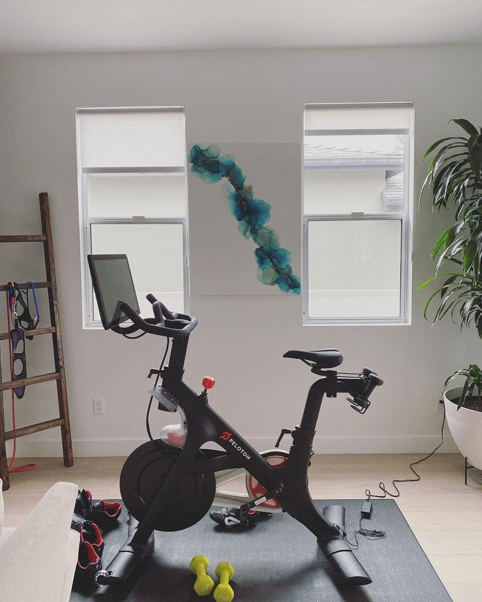 Peloton On Twitter Turn Your Home Gym Into A Place Of Solace Wherever You Keep Your Peloton Bike Or Tread We Re Rounding Up 6 Ways To Elevate Your Experience Https T Co Yxbke3hnhy Photo Via