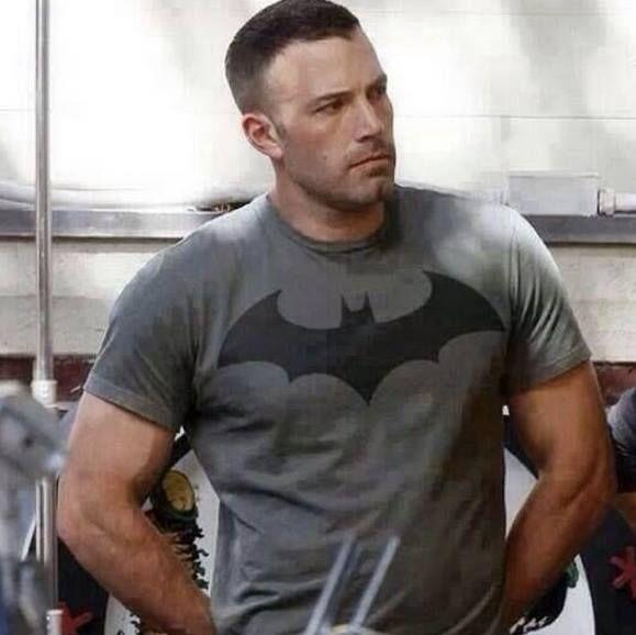 Ben Affleck Batman Shirtless