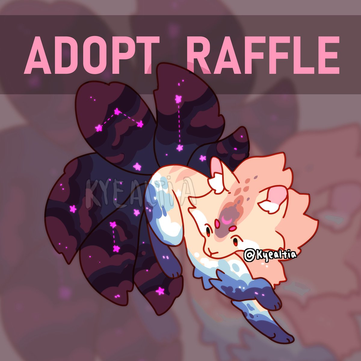 It's raffle time!!  Winner receives adopt ownership + JPEG file!  Rules: - follow me - retweet this - comment your favorite species for adopts!  Ends 4/30/20 #adoptgiveaway #adoptraffle #adoptable #adoptables #adopts #freeart #freeadopt #raffle #giveawaypic.twitter.com/PHJjRJDOk8