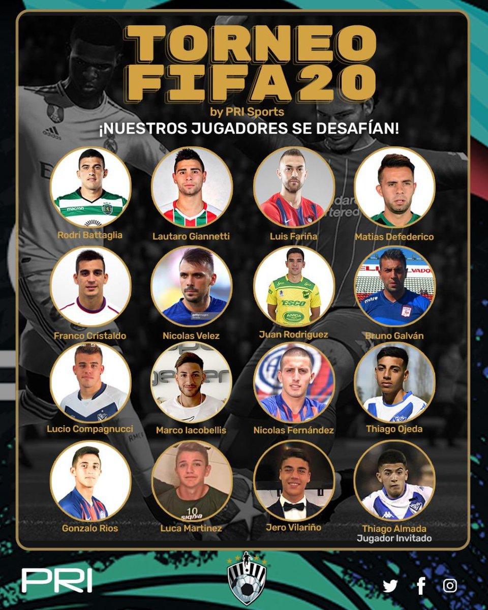 #TORNEO 🎮 Esta semana nuestros jugadores se desafían en un torneo apasionante a ver quien es el mejor en el #FIFA20. Arranca este Miércoles con algunos partidos en vivo, y el Sábado la GRAN FINAL.  #QuedateEnCasa 🏠 #FamiliaPRIsports 🤝❤️ https://t.co/tGzY8l7E2u