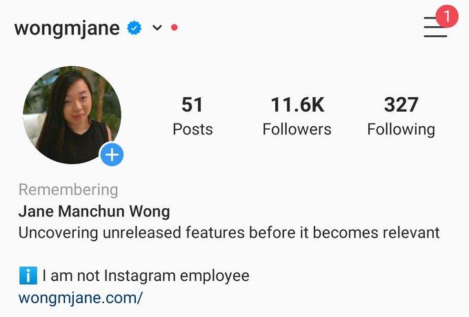 Remembering pada Instagram