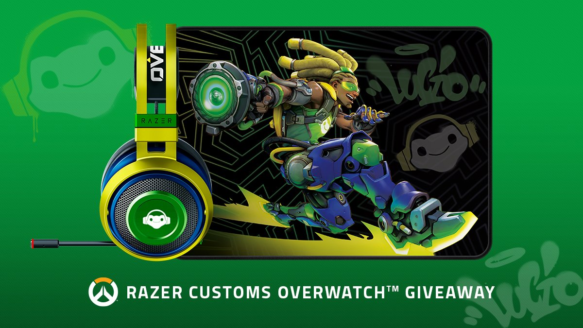 Bringing your heroes to life––we've partnered up with @PlayOverwatch to give away an exclusive Lucio Edition headset, Razer Customs mouse mat & discount codes. Here's how to enter: ✅ Follow us  ✅ Retweet  ✅ Comment with who your favorite hero is