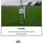 Image for the Tweet beginning: Handy new CosmOz (Australian Cosmic-Ray