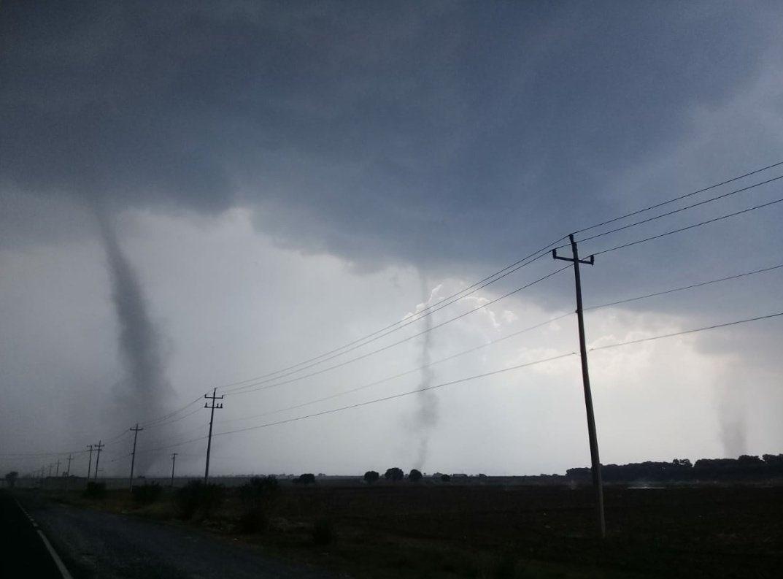 Tornado en Huamantla causará tormentas con descargas eléctricas en varios estados