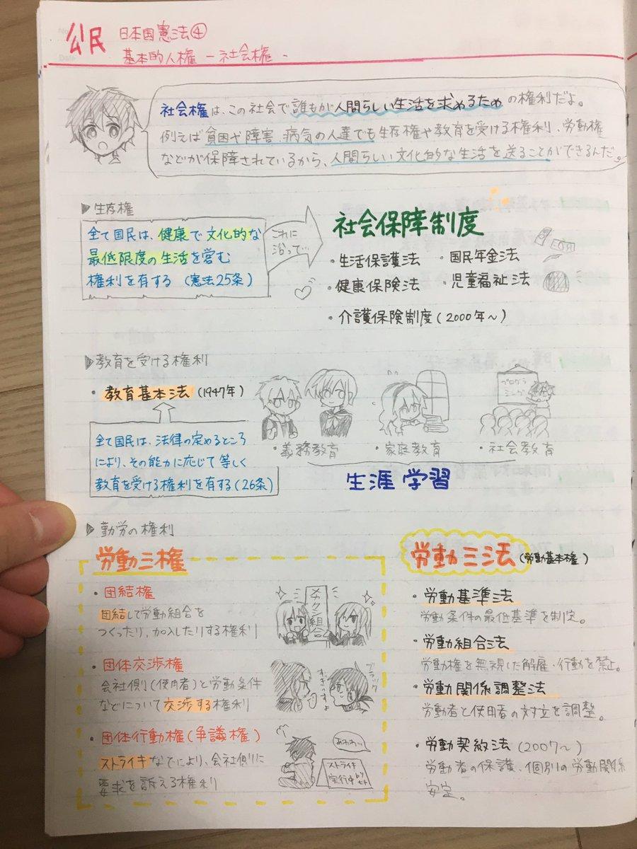 """せいるふろっぐ on Twitter: """"中学の時の自主学習ノートが出てきた… """""""