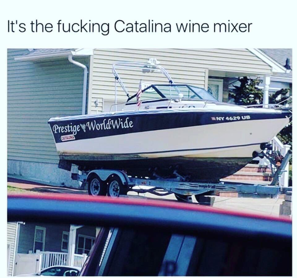 Call mum dad, the fkn catalina wine mixer is headed to melbourne