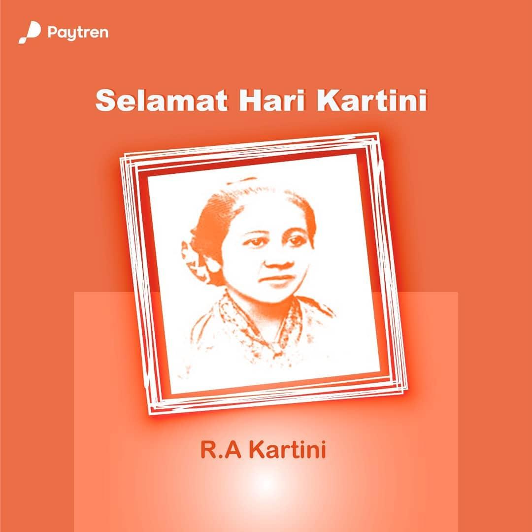 Selamat Hari Kartini, perempuan Indonesia.  Terima kasih R.A. Kartini telah menginspirasi para perempuan Indonesia utk tdk menyerah, & terus berjuang demi meraih mimpi & cita2.  #Paytren517  #PaytrenEmoney  #ConnectingYourLife  #PokoknyaPaytreninAja #HijrahChallangepic.twitter.com/JLxUAgJzvI
