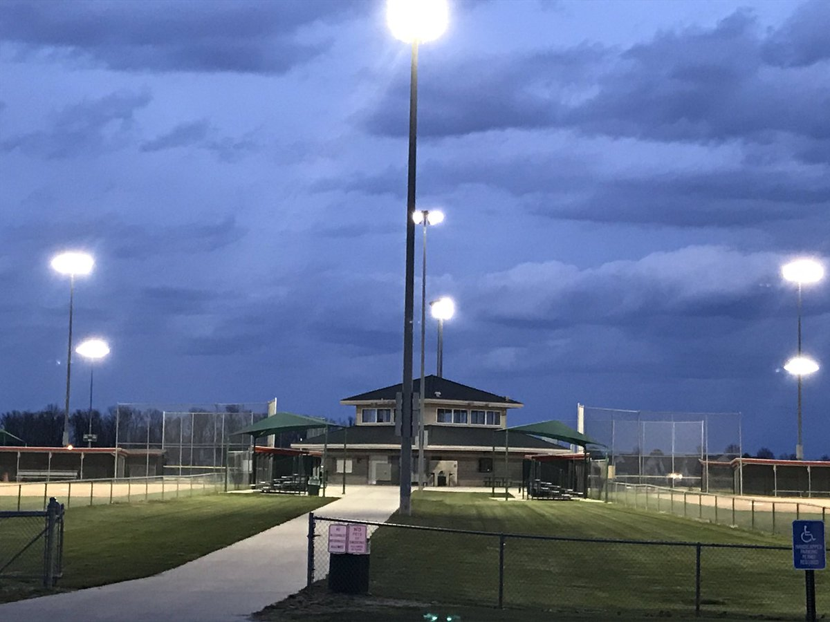 Wauseon Recreation On Twitter Lights On At Biddle Park For The Senior Class Of 2020