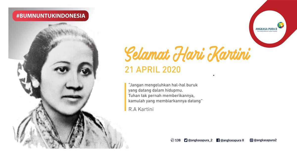Angkasa Pura Ii On Twitter Jadikan Semangat Juang R A Kartini