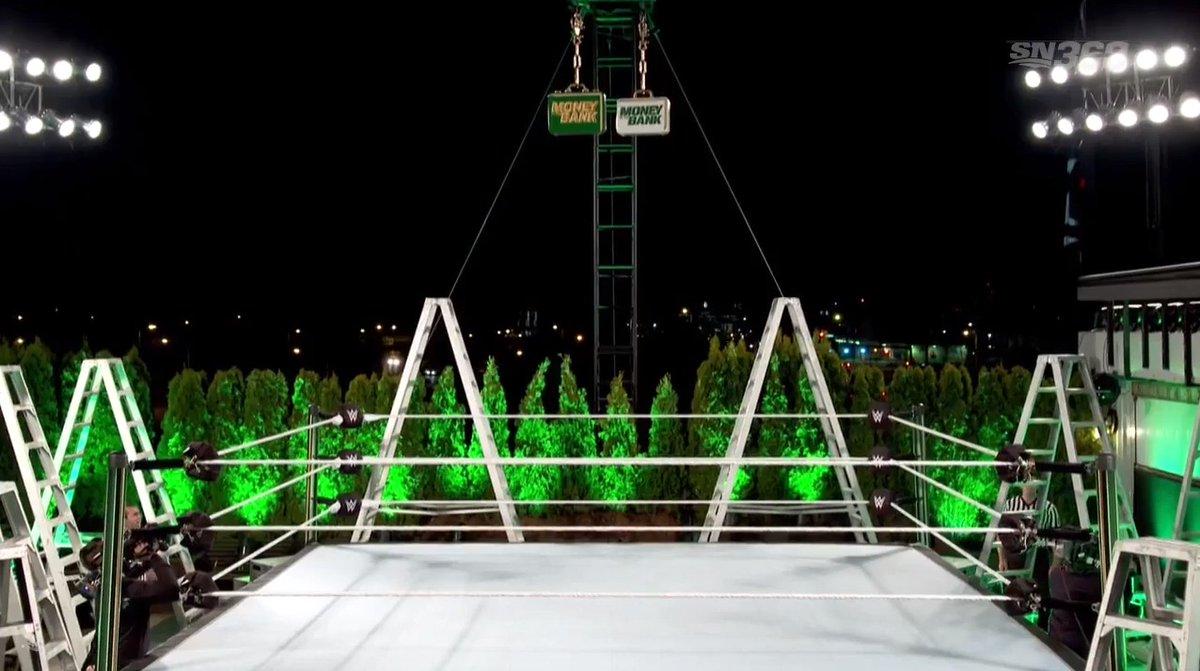 Ring Mone In The Bank sul Tetto della WWE
