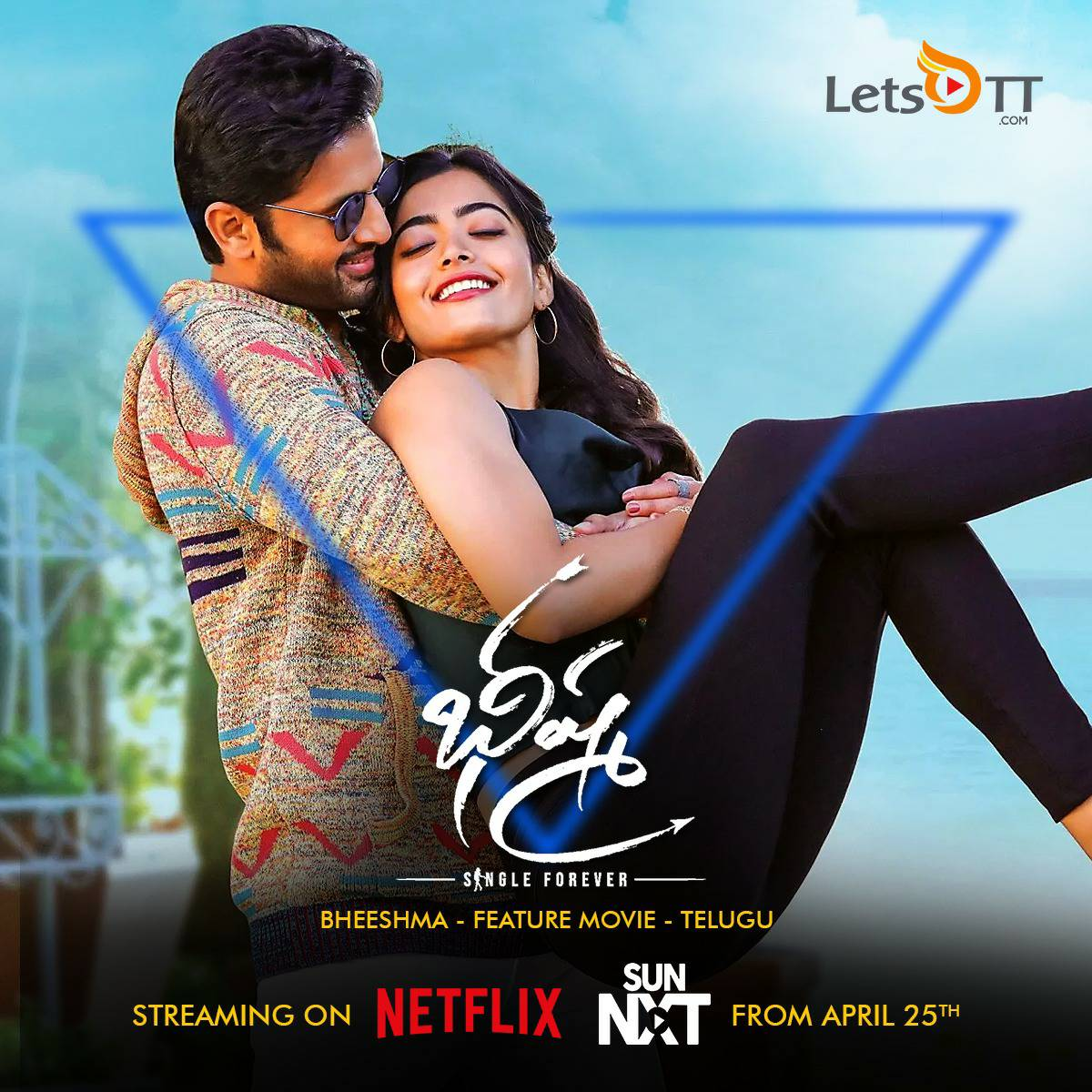 Letsott Global On Twitter 𝑩𝒉𝒆𝒆𝒔𝒉𝒎𝒂 2020 𝑵𝒆𝒕𝒇𝒍𝒊𝒙 𝑺𝒖𝒏𝑵𝒙𝒕 𝑨𝒑𝒓𝒊𝒍 25𝒕𝒉 Actor Nithiin Iamrashmika Venkykudumula Follow Letsott For All Live Updates And Reviews From Your Favourite Streaming Platforms Https T Co