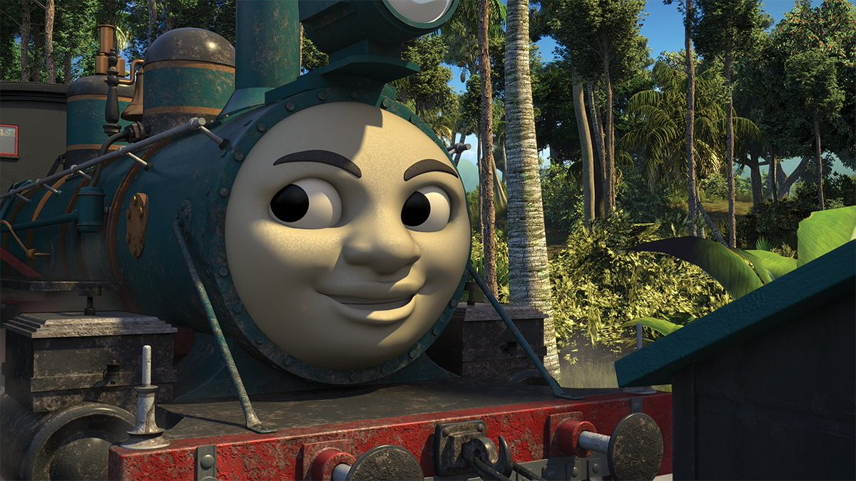 Spoopy Chris On Twitter Promos For Emily S Best Friend Thomas Fuzzy Friend The Great Little Railway Show And Thomas The Forest Engines