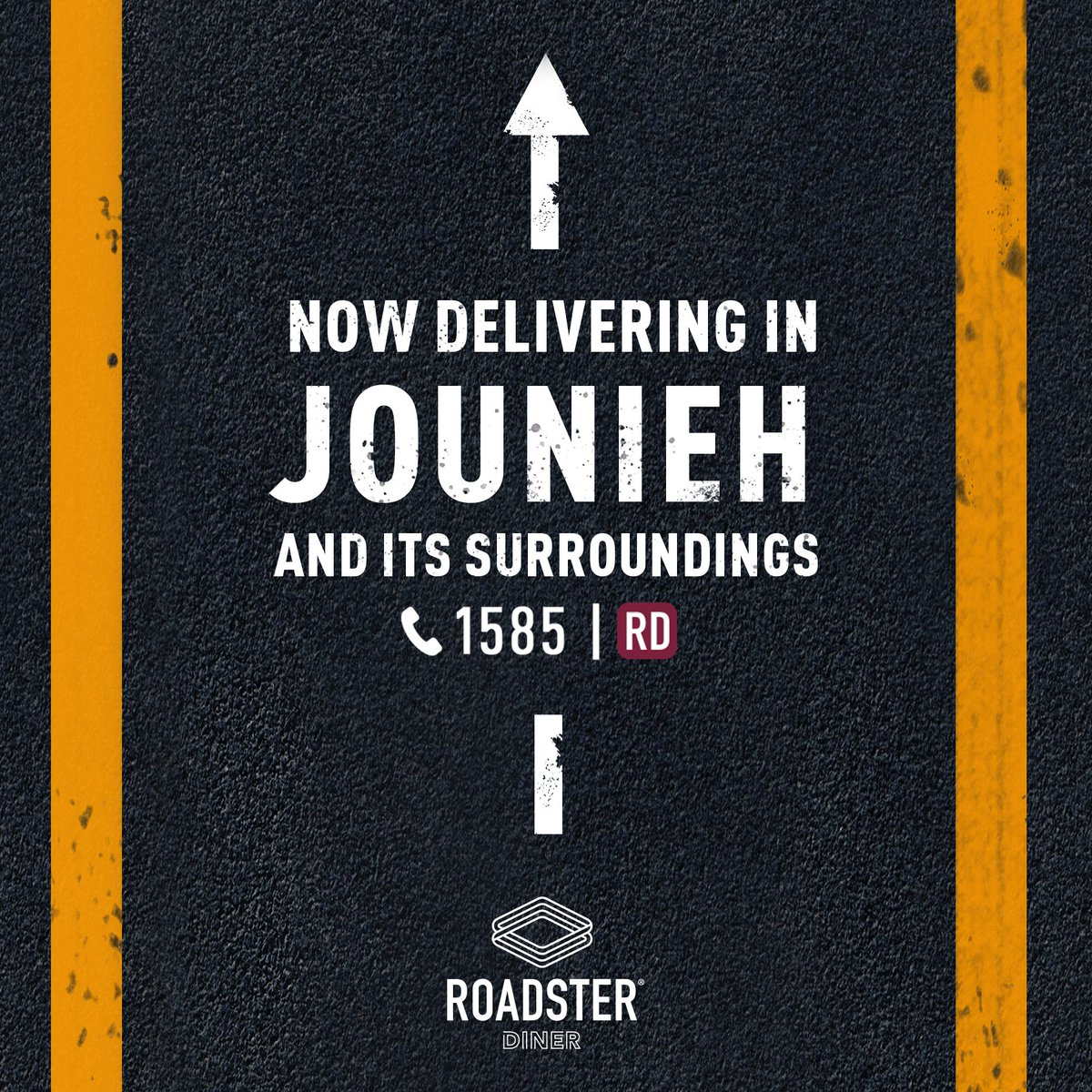 Jounieh, we've got you covered!🤩 We've resumed our delivery in Jounieh and its surroundings. You can order on the RD APP or dial 1585 and enjoy your meal at home! https://t.co/jumQB7QQKv