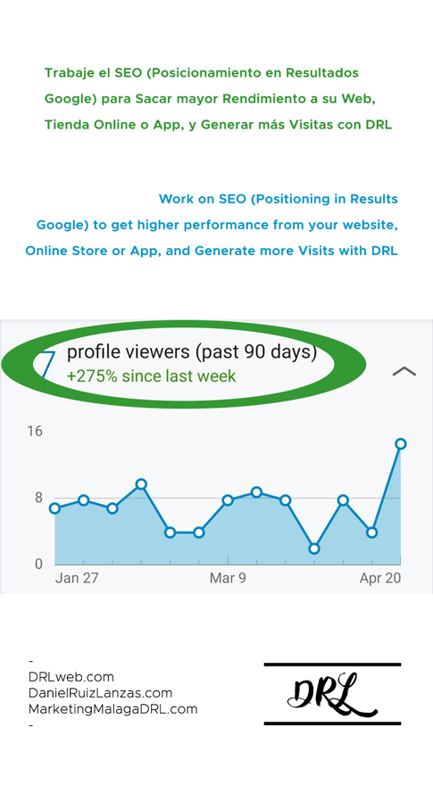 Work on SEO (Positioning in Results Google) to get higher performance from your website, Online Store or App, and Generate more Visits with DRL - https://t.co/RJ8BC8EfNr https://t.co/bJ47DLE8i4 https://t.co/6NXtzWRfSS - https://t.co/aODpYPurPh